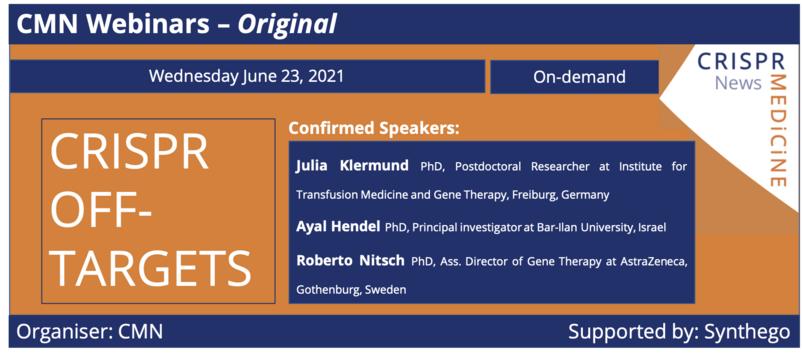 June 23th 2021 - CRISPR Off-Targets